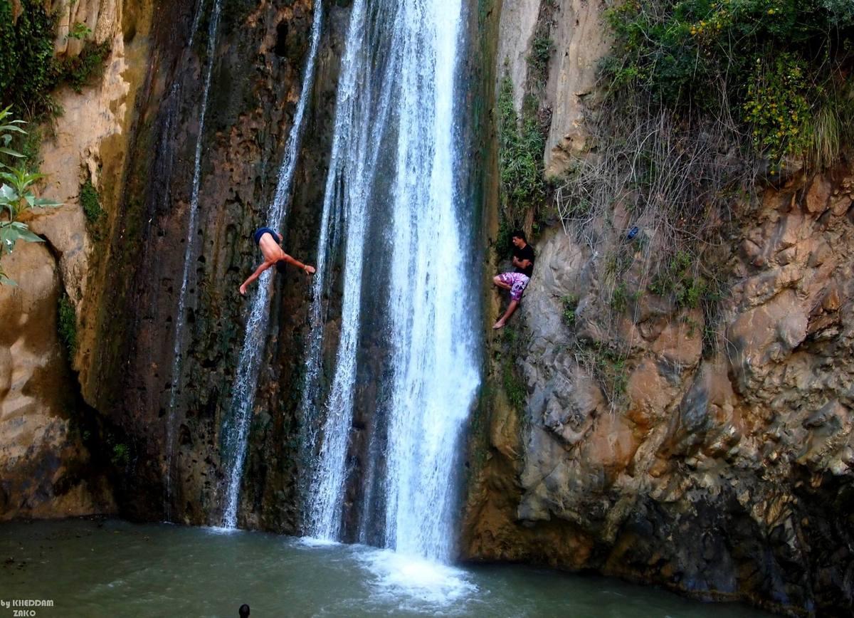 La cascade de Kefrida